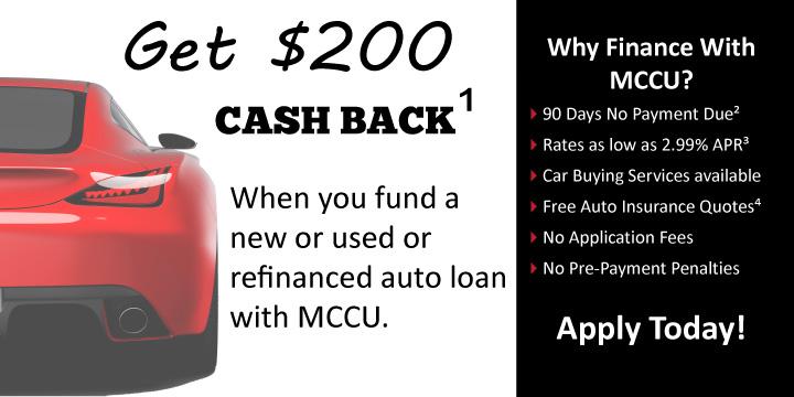 Used Auto Loans California Matadors Community Cu