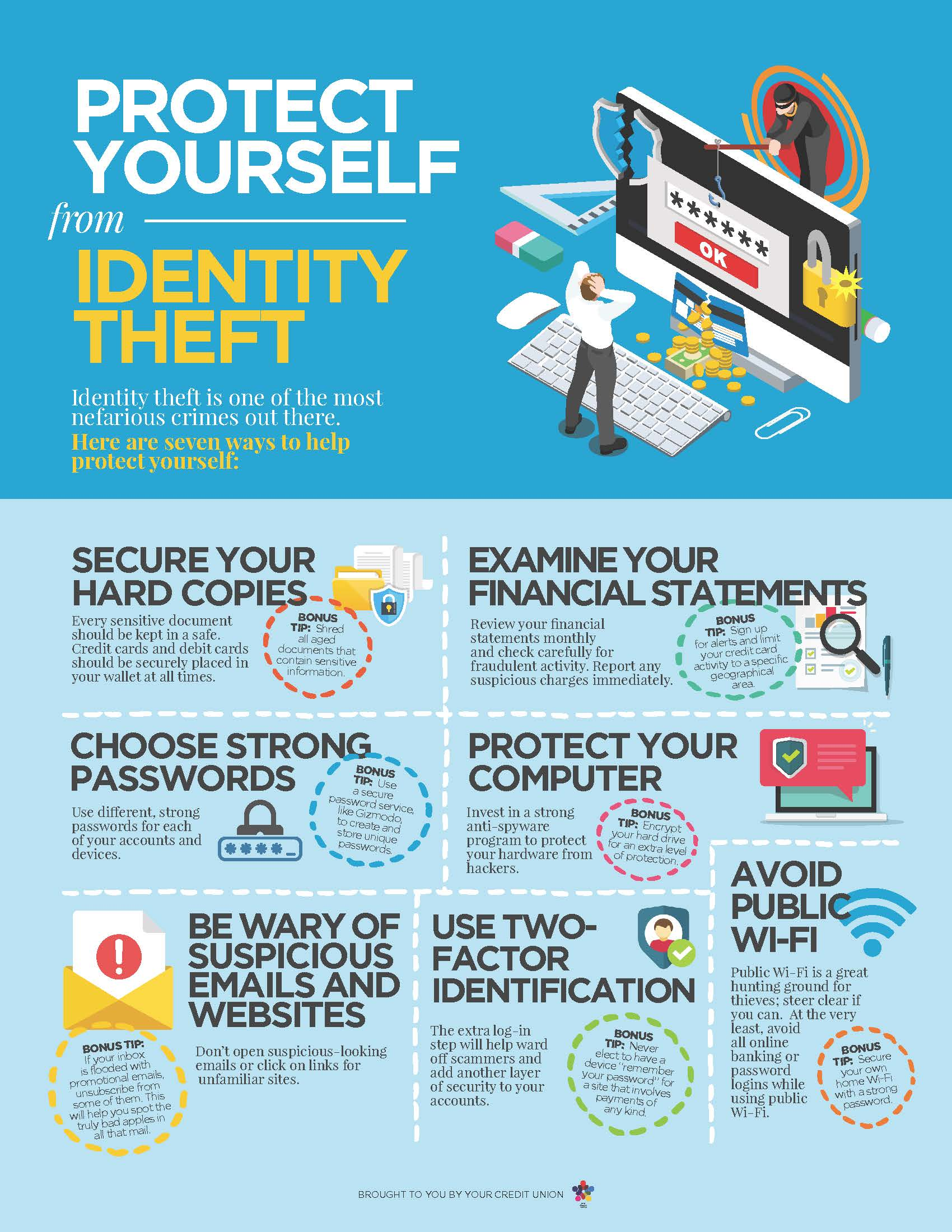 Protect yourself from identity theft - Matadors Community CU